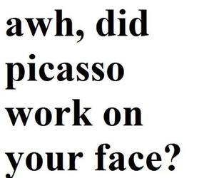 face, lol, and picasso image