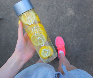 voss, lemon, and water image