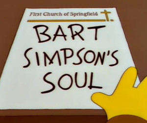 bart simpson, soul, and The Simpson image