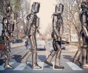 abbey road, beatles, and cool image