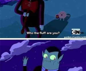 vampire, adventure time, and fluff image