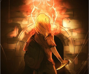 annabeth chase, percy jackson, and mark of athena image