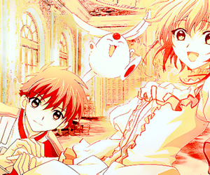 anime and sakura card captors image