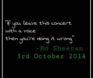 concert, ginger, and quote image