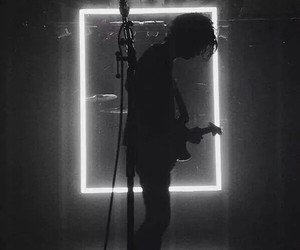 the 1975, band, and grunge image