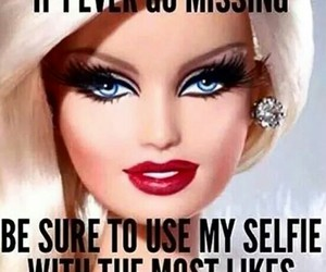 barbie, funny, and lol image