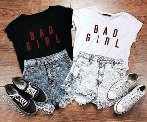 fashion, outfit, and bad girl image