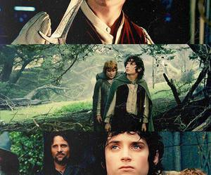 san, frodo, and lord of the rings image