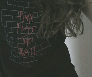 grunge, the wall, and Pink Floyd image