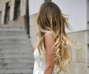 blonde, ombre, and cute image