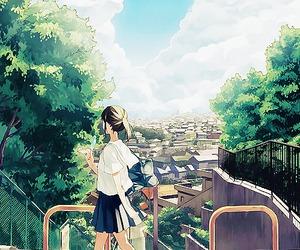 city, girl, and kawaii image