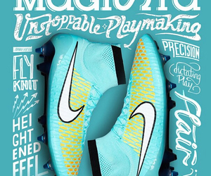 nike, super fly, and magista image