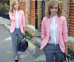 blazer, office, and outfit image