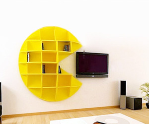pacman, book, and Pac Man image