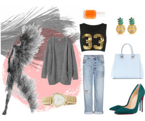 clothes, fashion, and polyvore set image