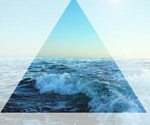 sea, summer, and waves image