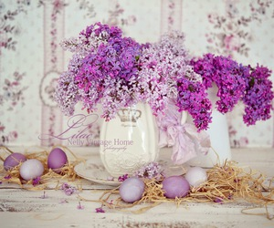 bouquets, flowers, and lilacs image