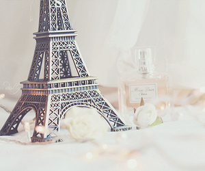 paris, eiffel tower, and perfume image