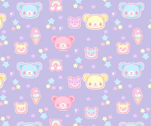 kawaii, wallpaper, and background image