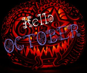 Halloween, hello, and october image