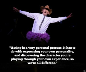 ian mckellen, wisdom, and tutu with a cowboy hat image