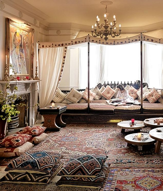 Beautiful Design Of Moroccan Day Bed