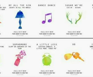 fall out boy, FOB, and songs image