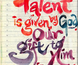 gift and talent image