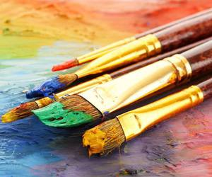 art, colors, and fun image