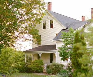 farmhouse and white image