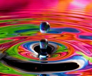 colorful, colors, and water image