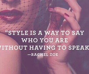 fashion, rachel zoe, and quotes image