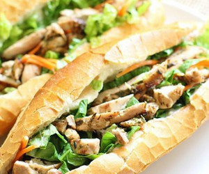 sandwich, Chicken, and food image