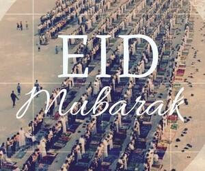 eid, eid mubarak, and mubarak image