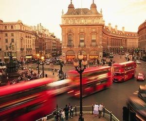 london, bus, and england image