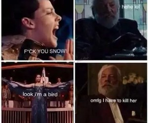 katniss, catching fire, and the hunger games image