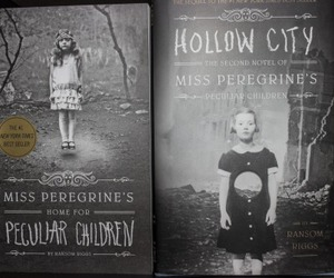 miss peregrine, ransom riggs, and hollow city image