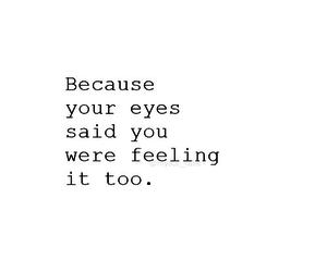 love, eyes, and feelings image