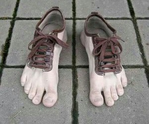 shoes, feet, and funny image