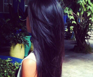 hair, black, and awesome image