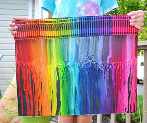 colorful, colors, and crayon image