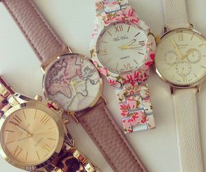 fashion, girly, and watches image