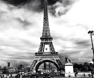 and, black, and eiffel image