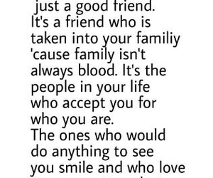 best friends, blood, and family image
