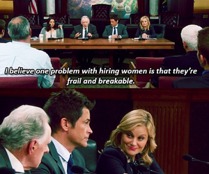 Amy Poehler, feminism, and parks and recreation image