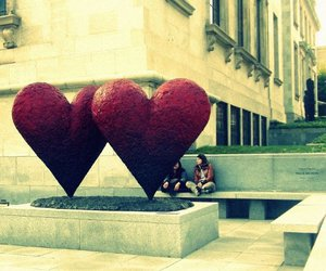 heart, montreal, and photography image