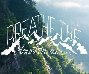 background, breathe, and mountain image