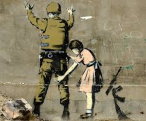 BANKSY, art, and soldier image