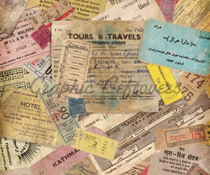 ideas, vintage, and travel image