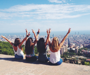 Barcelona, summer, and crazy image